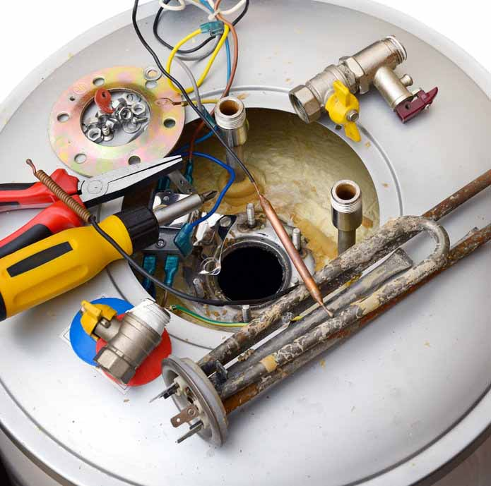 The Main Parts Of Your Water Heater