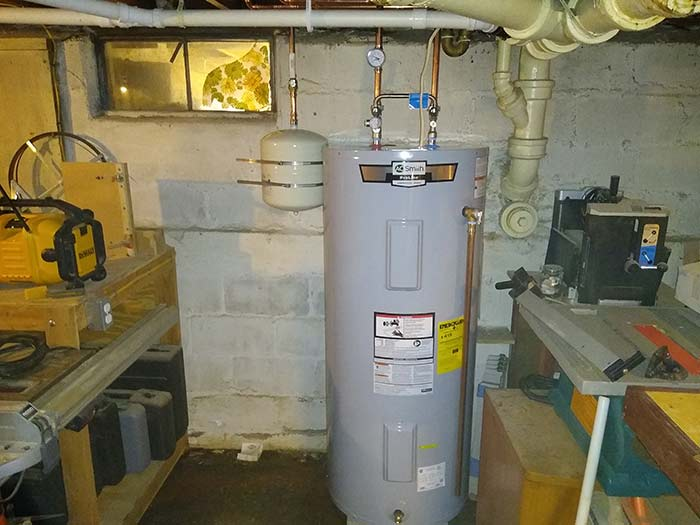 JNR Plumbing Water Heater
